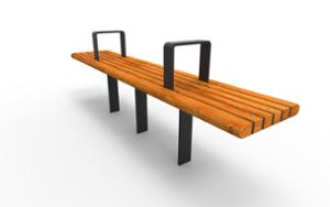street furniture, ławki miejskie, bench, for warsaw, armrest, wood seating