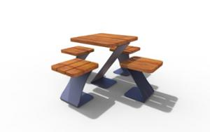 street furniture, ławki miejskie, other, for single person, picnic set, bench, wood seating, table, chess