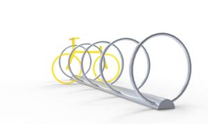 street furniture, ławki miejskie, bicycle stand, cycle rack, multiple stands