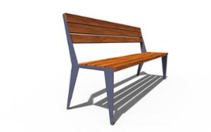 street furniture, ławki miejskie, seating, wood backrest, wood seating