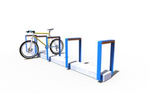 street furniture, ławki miejskie, concrete, smooth concrete, with bike frame protection, bicycle stand, cycle rack, multiple stands, free-standing