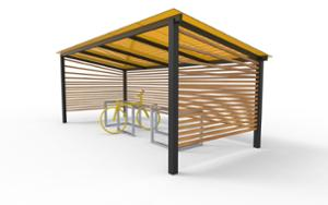 street furniture, ławki miejskie, other, bicycle stand, cycle rack, canopy, bicycle canopy, multiple stands
