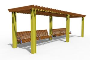 street furniture, ławki miejskie, other, seating, pergola, armrest