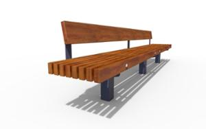 street furniture, ławki miejskie, vertical planks, seating, wood backrest, wood seating