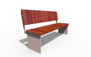 street furniture, ławki miejskie, horizontal planks, wood, seating, modular, steel