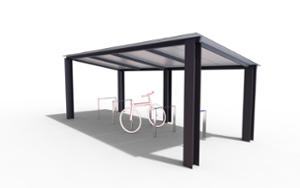 street furniture, ławki miejskie, other, bicycle stand, canopy, bicycle canopy, multiple stands