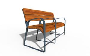 street furniture, ławki miejskie, for elderly people, seating, accessible for disabled, wood backrest, wood seating