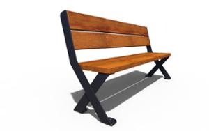 street furniture, seating, wood seating, vintage