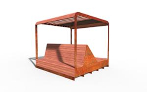 street furniture, ławki miejskie, other, bench, seating, chaise longue, parklet, pergola, high backrest