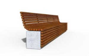 street furniture, ławki miejskie, concrete, smooth concrete, seating, wall top, wood backrest, wood seating