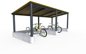 street furniture, ławki miejskie, other, modular, bicycle stand, cycle rack, canopy, bicycle canopy, multiple stands