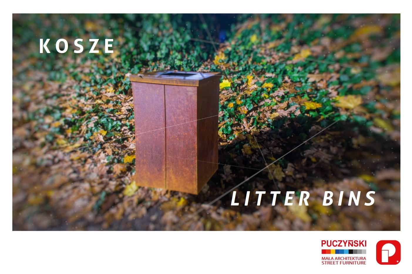 Cover litter bins 2019